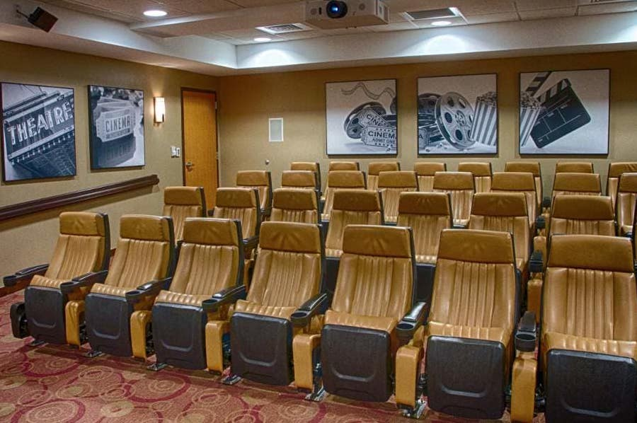 movie theater at holly creek