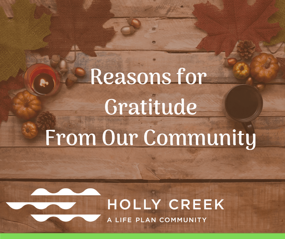 gratitude from our community