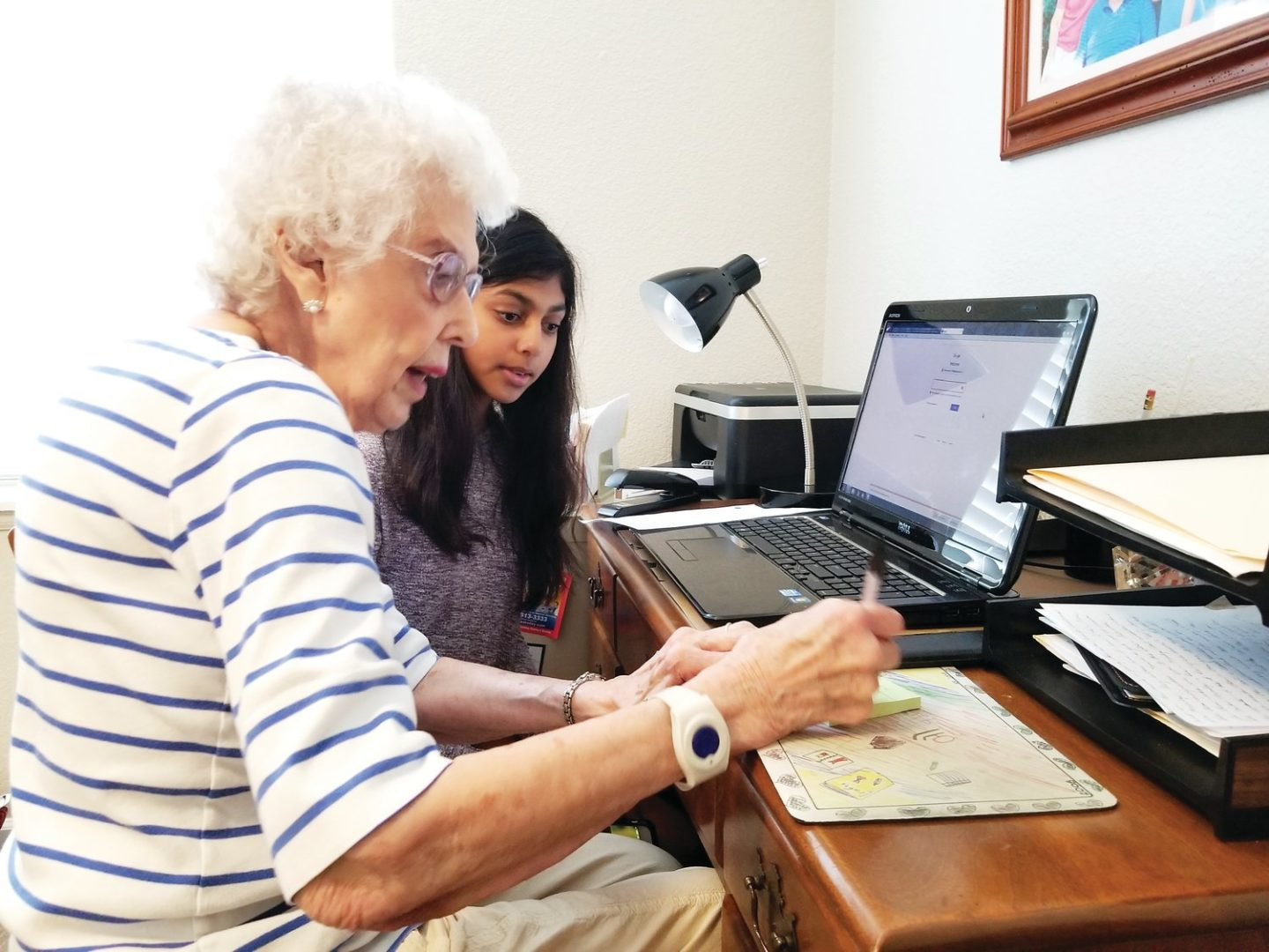 Teaching technology to older adults