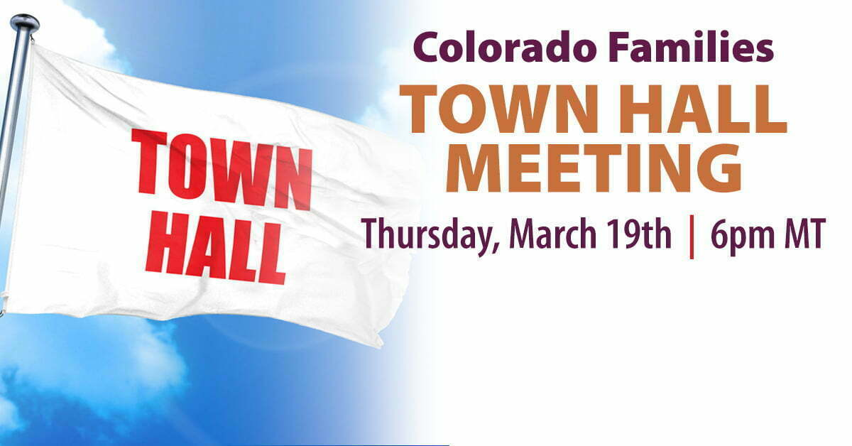 town hall meeting for families