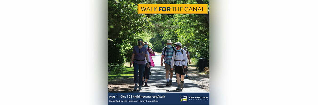 walk for the canal