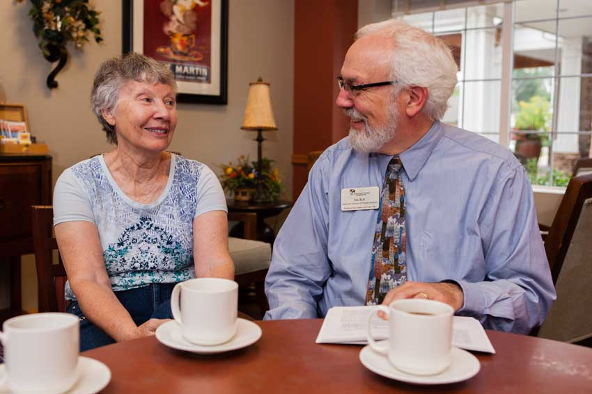 Jim Kok and spirituality in senior living